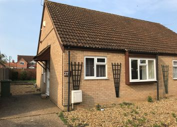 Thumbnail 2 bed semi-detached bungalow for sale in Garlondes, East Harling, Norwich