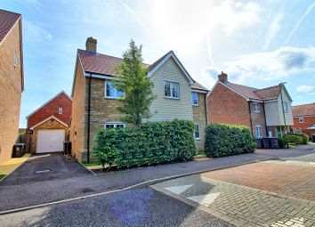 Thumbnail 4 bed detached house for sale in Skipps Meadow, Buntingford