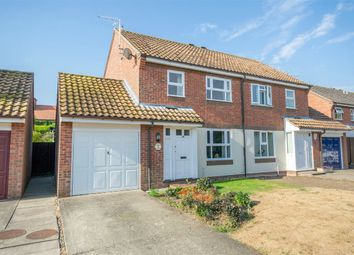 Thumbnail 3 bed semi-detached house for sale in Bluebell Gardens, Wells-Next-The-Sea