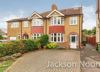 Thumbnail 5 bed semi-detached house for sale in Sunnymede Avenue, West Ewell, Epsom