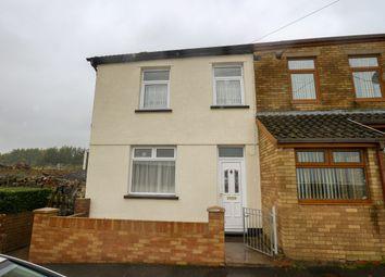Thumbnail 2 bed end terrace house for sale in Mansfield Terrace, Twynyrodyn, Merthyr Tydfil