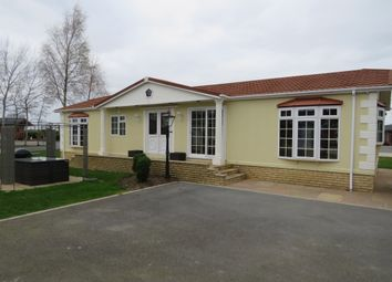 Thumbnail 3 bed mobile/park home for sale in Cliffe Country Lodges, Cliffe Common, Selby