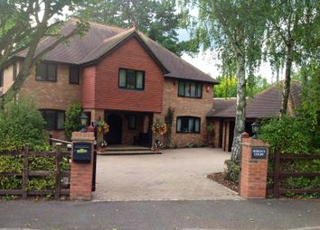 Thumbnail 5 bed detached house for sale in Manor Gardens, Wooburn Green, High Wycombe