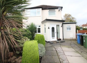Thumbnail 3 bed detached house for sale in Ellaston Drive, Urmston, Manchester