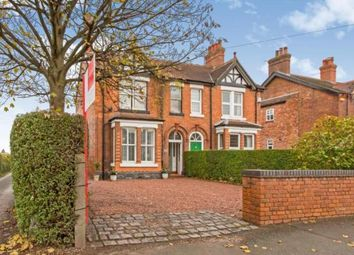 Thumbnail 4 bed semi-detached house for sale in Sandbach Road North, Alsager, Stoke-On-Trent, Cheshire