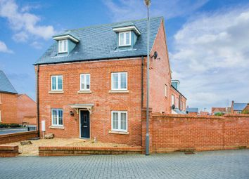Thumbnail 4 bed detached house to rent in Lace Lane, Buckingham
