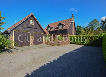 Thumbnail 4 bed detached house for sale in West Bank, Crowland, Peterborough