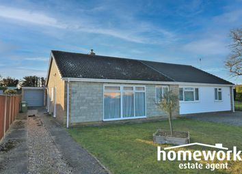 Thumbnail 2 bed semi-detached bungalow for sale in South Green Gardens, Dereham