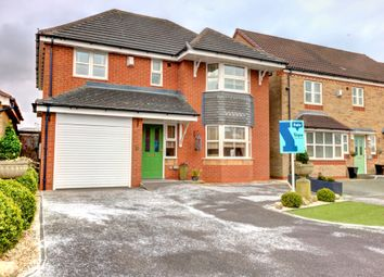 Thumbnail 4 bed detached house for sale in Minnie Close, Halmer End, Stoke-On-Trent