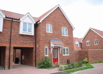 Thumbnail 3 bedroom link-detached house for sale in West Row, Bury St. Edmunds, Suffolk