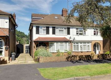 Thumbnail 4 bed semi-detached house for sale in Roundmead Avenue, Loughton, Essex
