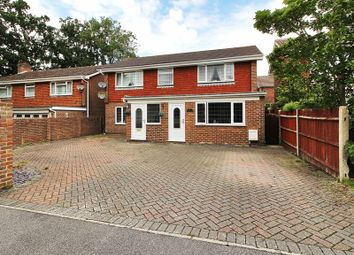 Thumbnail 4 bed detached house for sale in Harewood Close, Three Bridges, Crawley, West Sussex