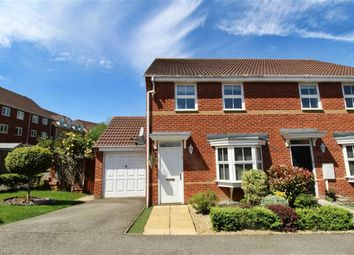 Thumbnail 3 bed semi-detached house for sale in Cosway Place, Grange Farm, Milton Keynes