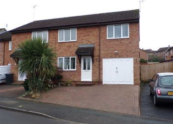 Thumbnail 4 bedroom semi-detached house for sale in Marigold Close, Woodhall Park, Swindon