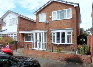 Thumbnail 3 bed detached house for sale in Roby Close, Rainhill, Prescot