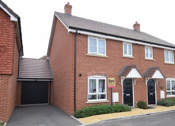 Thumbnail 3 bed semi-detached house for sale in Lamkin Way, Maidstone, Kent