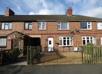 Thumbnail 3 bed terraced house for sale in Vicarage Road, Haslington, Crewe