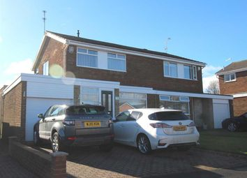 Thumbnail 3 bed semi-detached house for sale in Porchester Drive, Eastfield Chase, Cramlington