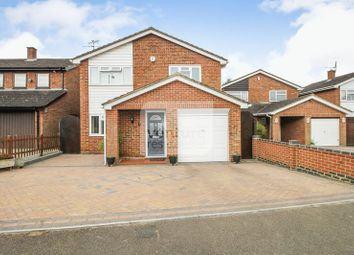 Thumbnail 3 bed detached house for sale in Brompton Close, Luton