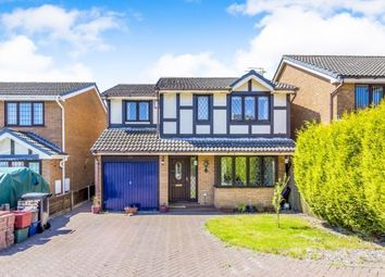 Thumbnail 4 bed detached house for sale in Meremore Drive, Newcastle, Staffordshire