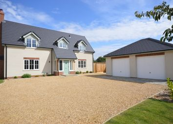 Thumbnail 4 bedroom detached house for sale in Golden Pheasant Drive, Snettisham, King's Lynn