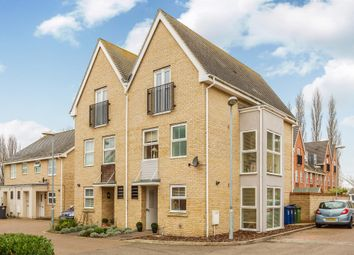 Thumbnail 4 bedroom town house for sale in Linton Close, Eaton Socon, St. Neots