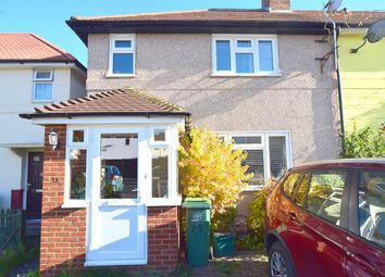 Thumbnail 3 bed terraced house to rent in Browning Avenue, Worcester Park