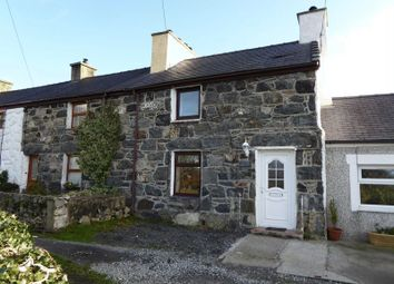 Thumbnail 2 bed terraced house for sale in Caeathro, Caernarfon