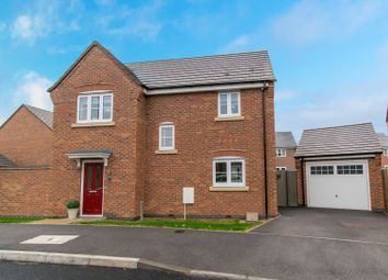 Thumbnail 3 bed detached house for sale in Clemerson Close, Leicester