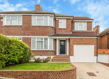 Thumbnail 4 bed semi-detached house for sale in Dalegarth Gardens, Purley
