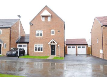 Thumbnail 4 bed detached house for sale in Cuthbert Way, Collingwood Manor, Morpeth