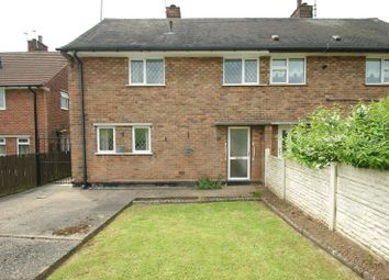 Thumbnail 3 bed semi-detached house for sale in Brookfield Crescent, Shirebrook, Mansfield