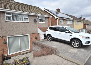 Thumbnail 3 bed semi-detached house for sale in Cornwall Road, Barry