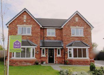 Thumbnail 5 bed detached house for sale in Fieldings Close, Longton, Preston