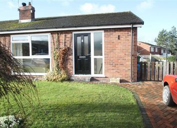 Thumbnail 2 bed semi-detached bungalow for sale in Briar Close, Minsterley, Shrewsbury