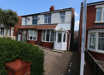 Thumbnail 3 bed semi-detached house to rent in Rectory Road, Blackpool