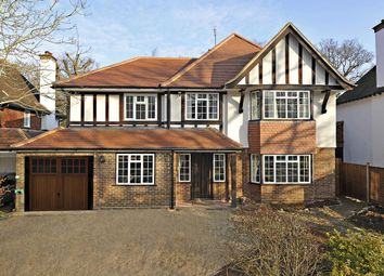 Thumbnail 4 bedroom detached house to rent in Ganghill, Burpham, Guildford