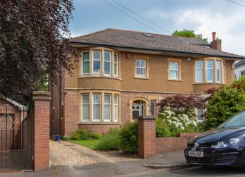 Thumbnail 3 bedroom semi-detached house for sale in Woodland Crescent, Cyncoed, Cardiff