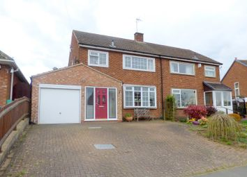 Thumbnail 3 bedroom semi-detached house for sale in Fleet Crescent, Rugby
