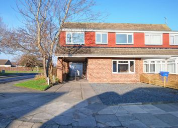 Thumbnail 4 bed semi-detached house for sale in Guillemot Close, Blyth