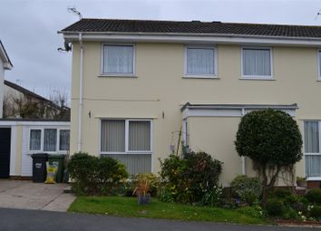 Thumbnail 3 bed semi-detached house to rent in Little Moor Close, West Yelland, Barnstaple