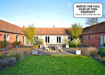 Thumbnail 4 bed barn conversion for sale in Creake Road, Syderstone, King's Lynn