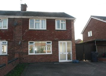 Thumbnail 3 bed semi-detached house to rent in Shackerdale Road, Wigston, Leicester