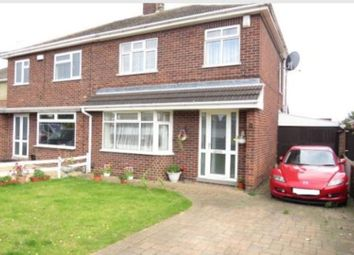 Thumbnail 3 bed detached house for sale in Wright Avenue, Peterborough