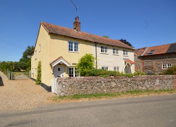 Thumbnail 3 bed end terrace house for sale in Stody Road, Brinton, Norfolk