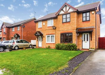Thumbnail 3 bed semi-detached house for sale in Walnut Crescent, Rhyl