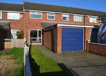 Thumbnail 3 bed town house to rent in Station Road, North Hykeham, Lincoln