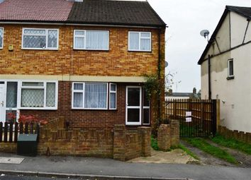 Thumbnail 3 bed end terrace house to rent in Hillside, Slough, Berkshire