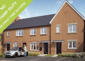 Thumbnail 3 bedroom mews house for sale in Midland Road, Swadlincote