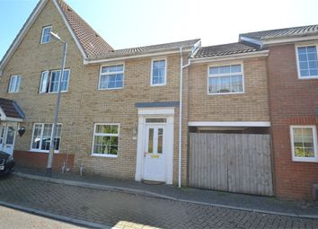Thumbnail 3 bedroom terraced house to rent in Jovian Way, Colchester, Essex